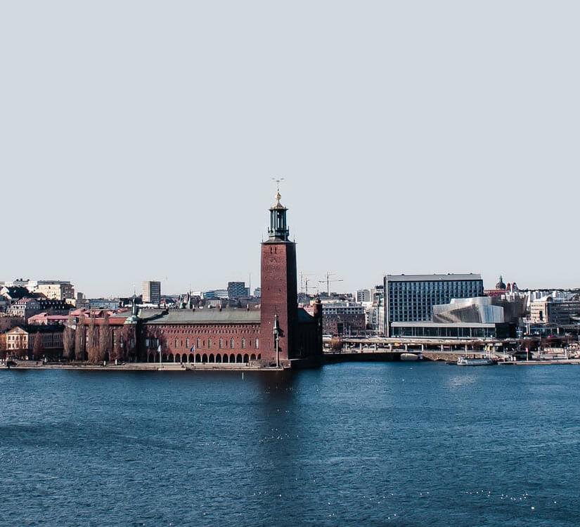Kungsholmen med en utsikt